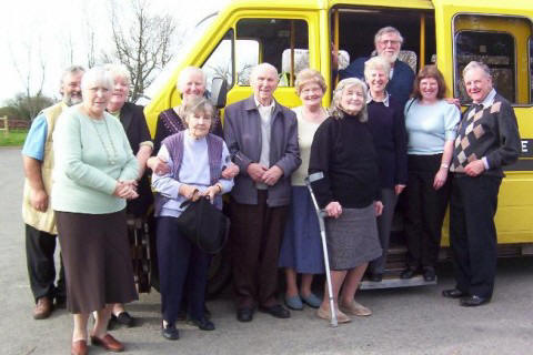 Some of our members on a Friday trip with our local Councillor, Brian Williams